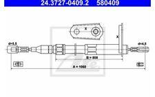 ATE Cable de accionamiento, freno estacionamiento MERCEDES-BENZ 24.3727-0409.2