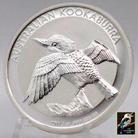 2011-P Australia Kookaburra Perth Mint 1 oz Silver Coin- Original Mint Capsule