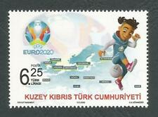 Turkish North Cyprus Stamps UEFA EURO 2020 Football tournament MINT Low Postage