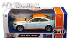 MOTOR MAX 1:24 GULF BMW M3 COUPE DIE-CAST BLUE 79644