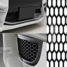"""5_Black Honeycomb Hexagon Mesh ABS Grille Fog Custom DIY Kit 43""""x15"""" for JAGUAR"""