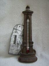 Thermomètre de jardin en fonte vintage Nouveauté pompe à eau n ° 2