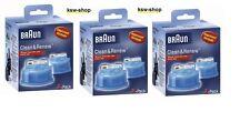 6 x BRAUN Reinigungskartuschen CCR Clean&Renew NEU&OVP 5+1 3x 2