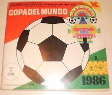 RARE Album Futbol/Soccer 448 Cards COPA DEL MUNDO ´86/ made in Venezuela