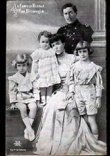 BRUXELLES (BELGIQUE) FAMILLE ROYALE , ROI ALBERT I° avec MEDAILLES MILITAIRES