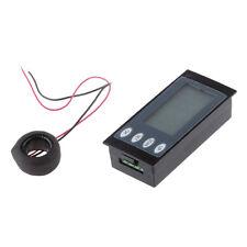 AC Digital LED Power Meter Monitor Voltage KWh Time Watt Energy Volt Ammeter
