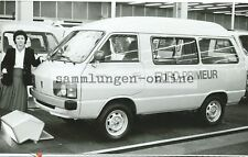 Toyota Lite Ace Transportation Bus Delivery Van Press Photo Exhibition 1980