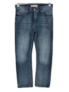 Vintage Levi's 506 Bleu Foncé Standard Jeans Coupe Droite Taille W31 L32