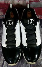 Nike Air Jordan Cmft Viz 13 Black White Sneakers Shoes Mens 12 PATENT LEATHER