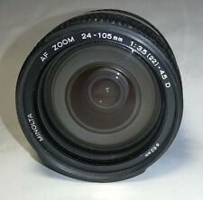 [Excellent++] Minolta AF 24-105mm f/3.5-4.5 D Lens From Japan #100052