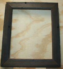 8X10 Rustic Photo Canvas Reclaimed Barn Wood Frame Sun Burnt Style #PF01013