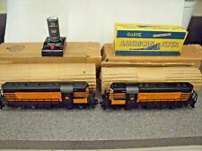 American Flyer S Gauge 1957 Beautiful Set Of Boxed Texas & Pacific Jeeps, 377 78