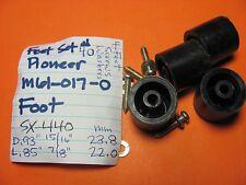 FEET SET #40 PIONEER M61-017-0 SX-440