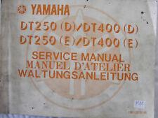 YAMAHA RD250 RD350 LC Werkstatt-Handbuch Wartungsanleitung Bj.1980