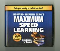 Maximum Speed Learning - by Howard Berg -  Audiobook 5CDs Includes Workbook CD