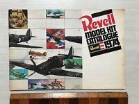 VINTAGE REVELL UK PLASTIC MODEL KIT 1974 TOY FAIR CATALOG STUNNING ARTWORK VGC!!