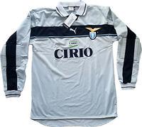 maglia Lazio vintage Marchegiani goalkeeper Puma Cirio 1998 1999 home shirt XL