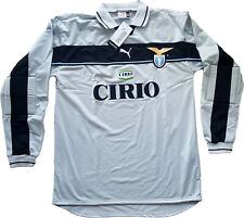 maglia Lazio vintage Marchegiani goalkeeper Puma Cirio 1998 1999 home shirt XXL