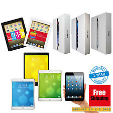 iPad Air,mini,2,3,4 128GB 64GB 32GB 16GB Wi-Fi+4G Cellular 1-Year Warranty