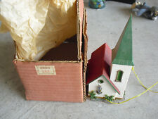 Vintage HO Scale Faller Church with Bell 239/BE in Box