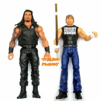 Roman Reigns & Dean Ambrose Stick The Shield WWE Wrestling Action Figure Kid Toy