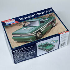 Monogram Chevy S-10 Pickup 1/25 SCALE Kit # 2438 OPEN BOX, PARTS, COMPONENTS