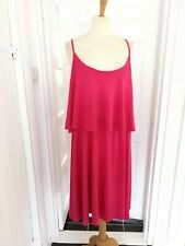 Ladies Avenue Pink Summer Dress Size 18 NWT