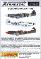 Xtradecal X48127 1:48 Supermarine Spitfire Mk.XIVE / Mk.XVIII