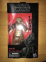 "Hasbro Star Wars Black Series Zuckuss Bounty Hunter 6"" Figure Mandalorian NEW"