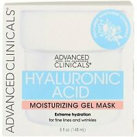 Advanced Clinicals Hyaluronic Acid Moisturizing Gel Mask, 5 fl oz