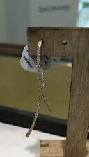 Apm Monaco orecchino mono in argento rosato pendente zirconi AE89900X