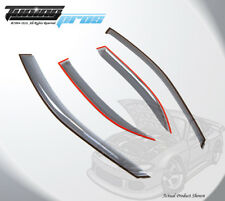 Light Gray Rain Visor Deflector 4pcs Out Channel For Toyota Camry 2002-2006