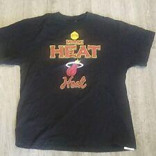 NBA MIAMI HEAT BASKETBALL xl black GRAPHIC T-SHIRT