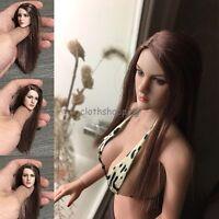 "KT005 KIMI TOYS 1/6 Scale Female Head Sculpt Model For 12"" Phicen HT Body Figure"