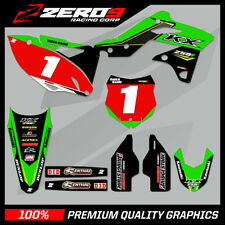 KAWASAKI KX KXF 125 250 450 MOTOCROSS MX GRAPHICS FULL KIT OEM TEAM 18