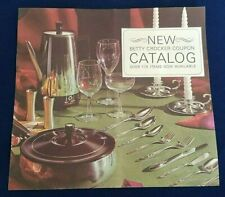 Betty Crocker Coupon Rewards Catalog - Identify Cutlery Patterns - Vintage
