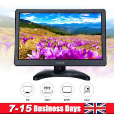 12 inch IPS LCD Color Monitor Display Screen HDMI VGA AV For DVD CCTV Security