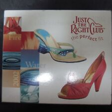Just The Right Shoe Fire and Water 2002 Club Set Raine Retired