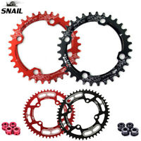 SNAIL 32-52T Chainring & Bolts 104BCD Narrow Wide Chain Ring for MTB Road Bike