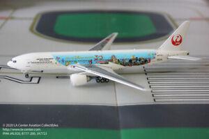 Phoenix Model Japan Airlines Boeing 777-200 Tokyo Disney 30th Metal Model 1:400