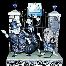 40th Anniversary Disney Haunted Mansion Jim Shore Hitchhiking Ghosts LED Lights