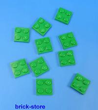 LEGO®  2x2  Platten grün  / 10 Stück