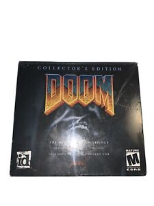 The Ultimate Doom Trilogy Collector's Edition (PC CD-ROM) (2 DISC SET) RARE