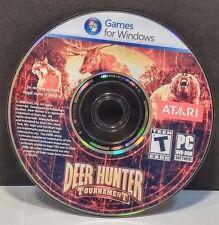 Deer Hunter Tournament (PC, 2008) DISC ONLY #7254