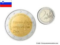 2 Euros Commémorative Slovénie 2020 Roman Bohoric UNC