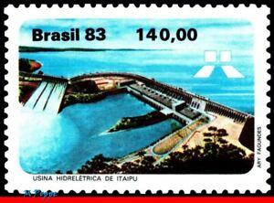 1847 BRAZIL 1983 ITAIPU HYDROELECTRIC, POWER STATION, ENERGY MI# 1954 C-1311 MNH