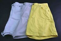 Lot of 3 Liz Claiborne Lizwear Classic Fit Women's Size 16 100% Cotton Shorts