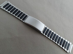 Timex Ironman Triathlon Stainless Steel DATALINK 19mm Buckle Clasp Watch Band
