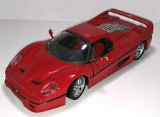 Maisto 1:24 Die Cast Ferrari F50 Red Metal Car Collectible