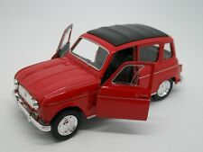 Automodels 1:32 -  WELLY - RENAULT 4 (red)